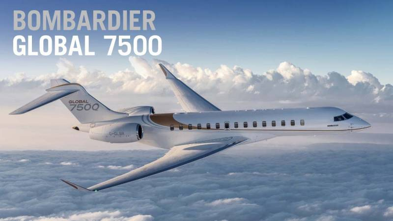 Tour the Bombardier Global 7500 Business Jet